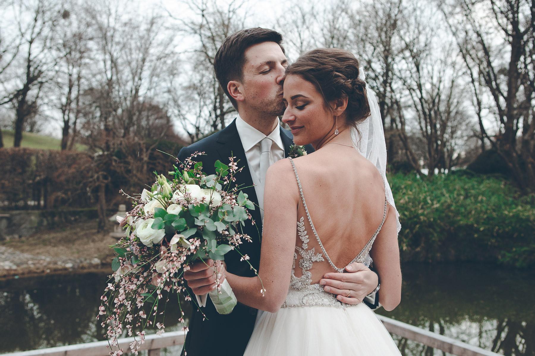 Wunderschöne Hochzeitsfotos von Annika und Max in München