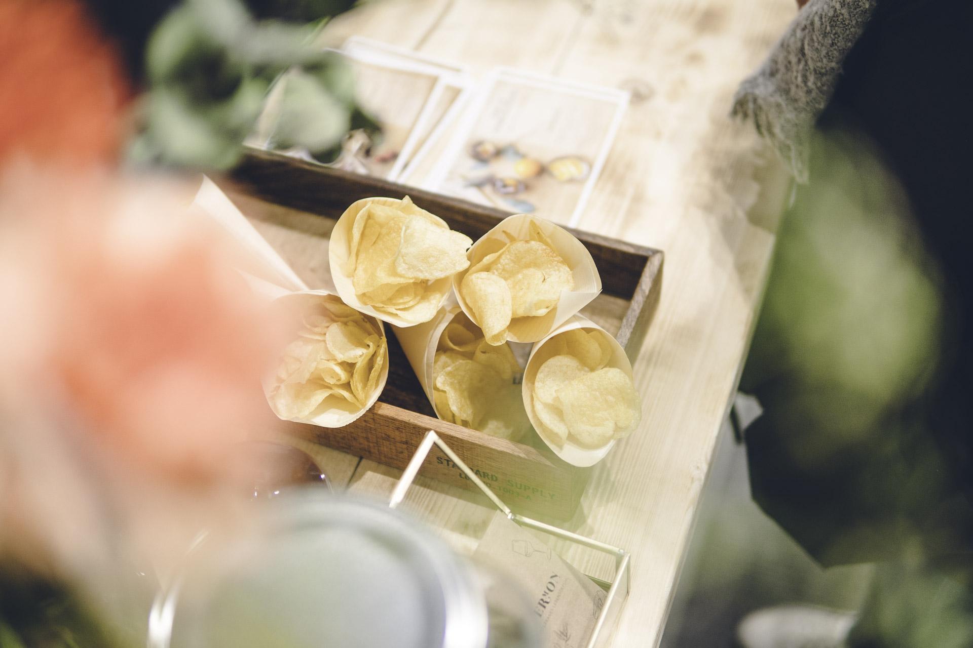 Food Fotografie spanischer Chip Tüten im Münchener Pop Up Store