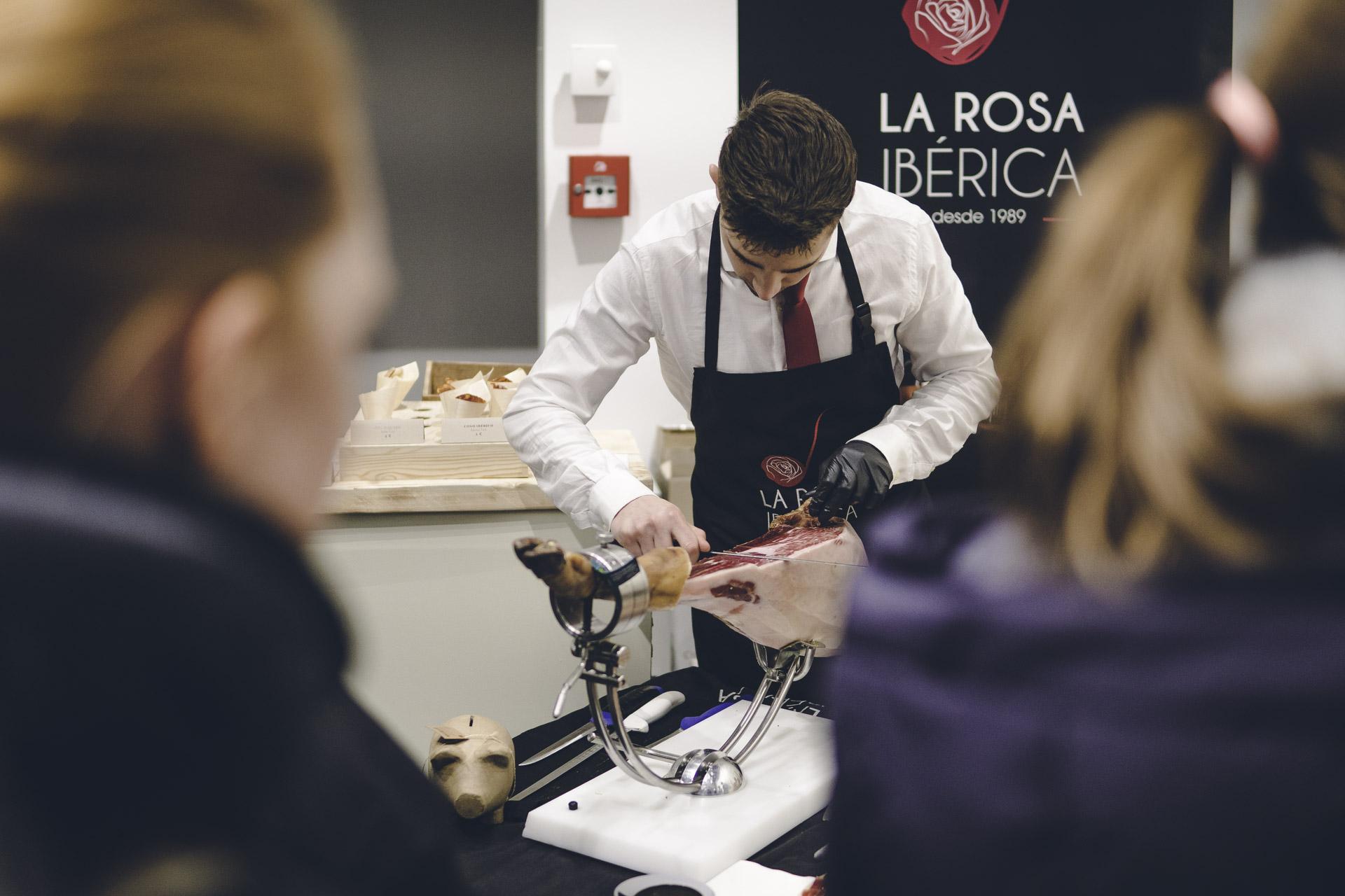 Eventfoto eines spanischen Koches
